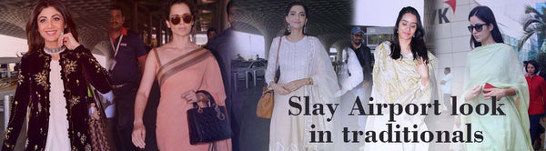 Slay the airport look in ethnic wear - Luxurionworld