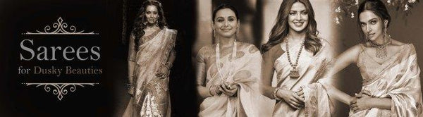 Five Sarees for Dusky Beauties - Luxurionworld