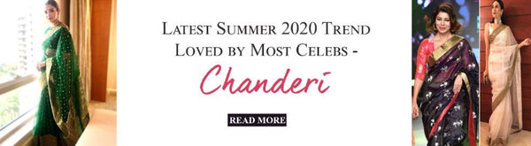 Latest Summer 2020 Trend Loved by Most Celebs - Chanderi - Luxurionworld