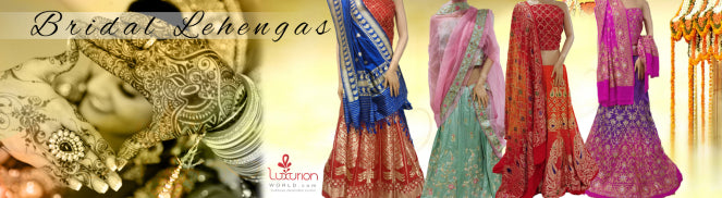 Five bridal lehengas for a blissful look
