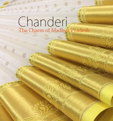 best chanderi saree