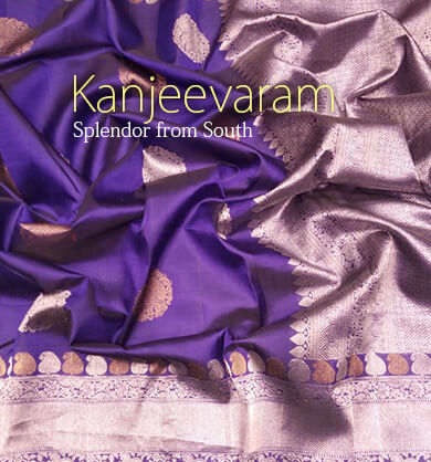Pure silk kanjeevaram saree