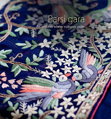Authentic Parsi Gara Embroidered Sarees