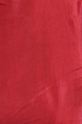 Red Modal Silk Fabric ( 1 Mtr)