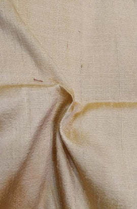 Pastel Handloom Banarasi Raw Silk Fabric 100 gsm (2.5 mtrs) - Luxurionworld