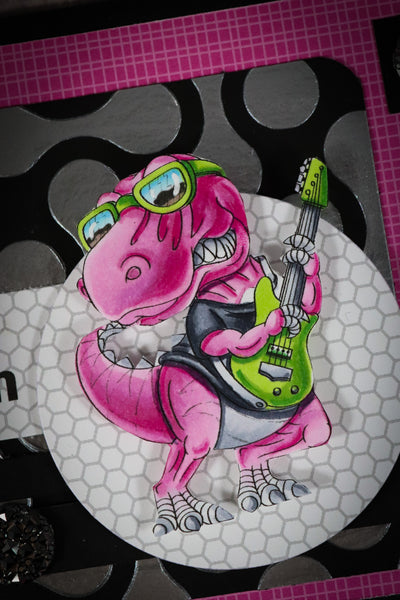 Rock and Roll Dinosaur