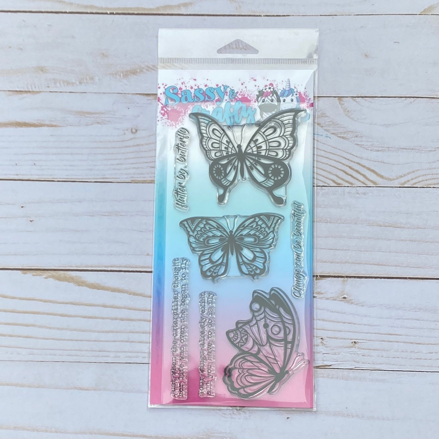 Flutter by Butterfly Stamp