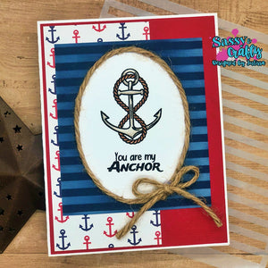 Ahoy Matey - Sassy and Crafty