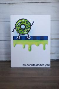 Donut Sprinkle Stencil - Sassy and Crafty