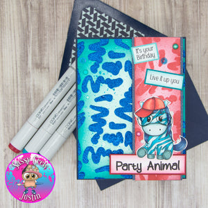 Pickles - Party Animal 4x8 Stamp Set