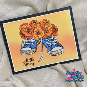 Spring in Your Step Stamp