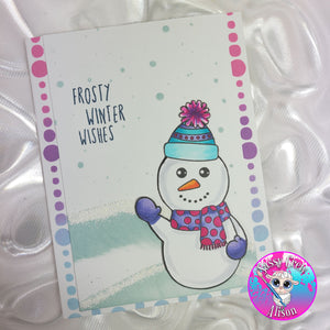 Build a Snowman Stamp
