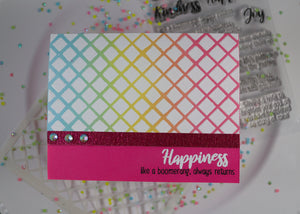 Be Kind Sentiment Stamp Set - Sassy and Crafty