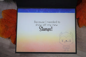 Sassy Sentiments 2.0 Sentiment Stamp