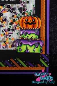 Halloween Sweets Stamp
