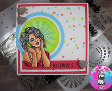 Load image into Gallery viewer, Sassy Girls - Sing Stamp