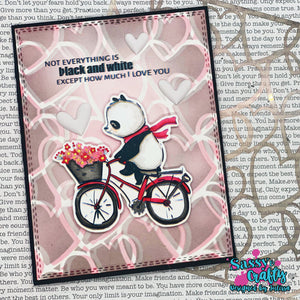 Panda-monium 4x8 Stamp Set