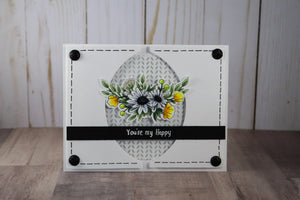 Sweet as a Honeybee 4x8 Stamp Set - Sassy and Crafty