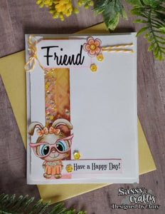 Spring Friends - Sassy and Crafty