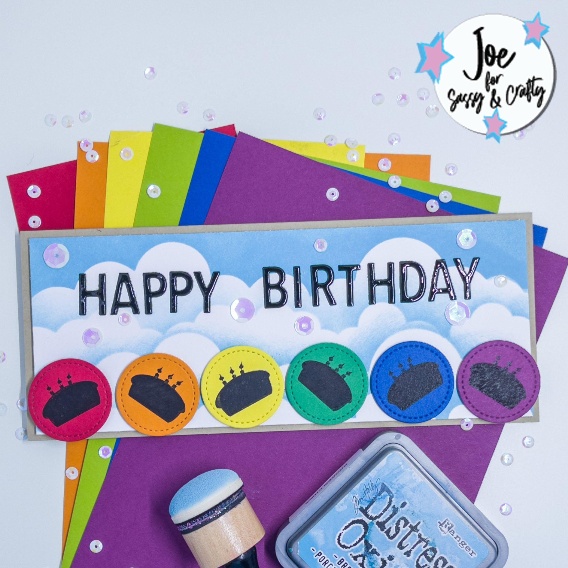 Create Your Own Rainbow - Celebrate Stamp