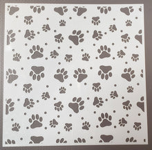 Load image into Gallery viewer, Seeing Spots & Paw Prints Stencil 2-pack