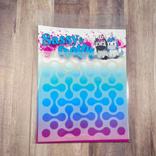 Load image into Gallery viewer, Skater 6x6 Stencil - Sassy and Crafty