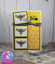 Load image into Gallery viewer, Sweet as a Honeybee 4x8 Stamp Set - Sassy and Crafty