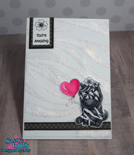 Load image into Gallery viewer, Zebra Stripe Stencil - Sassy and Crafty