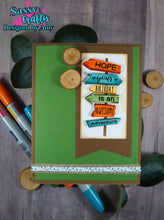 Load image into Gallery viewer, Camping BFF 4x8 Stamp Set - Sassy and Crafty