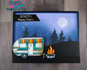 Camping BFF 4x8 Stamp Set - Sassy and Crafty