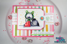 Load image into Gallery viewer, Plushies- Friendly Pugs 4x6 Stamp Set - Sassy and Crafty