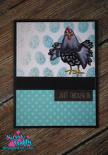 Load image into Gallery viewer, Petunia - Chicken Tales 4x8 Stamp Set