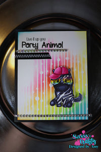 Party Time Stencil