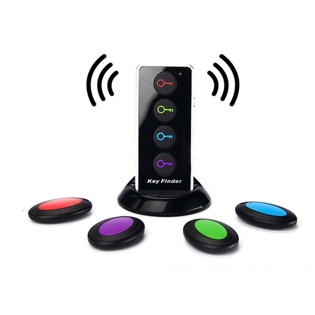 4-in-1 Wireless Radio Electronic Keyfinder