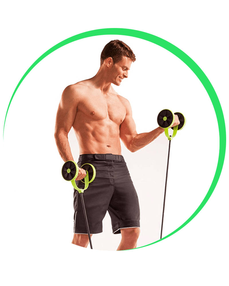 Abs Roller Xtreme Abdominal muscle Firm Abs Exercising Equipment
