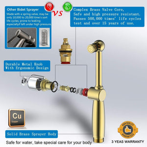Hand Held Toilet Bidet Sprayer