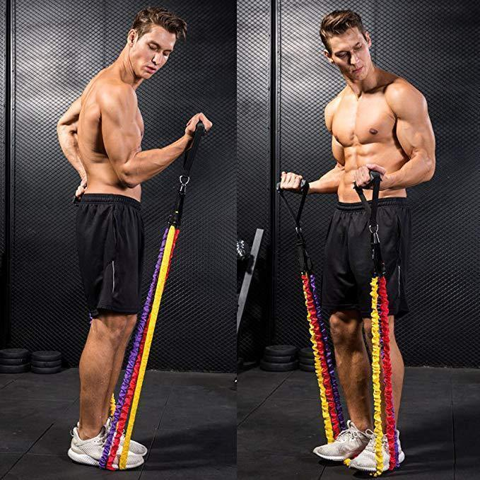 Resistance Band Set ( 11 Piece Set )-Buy 2 Free Shipping