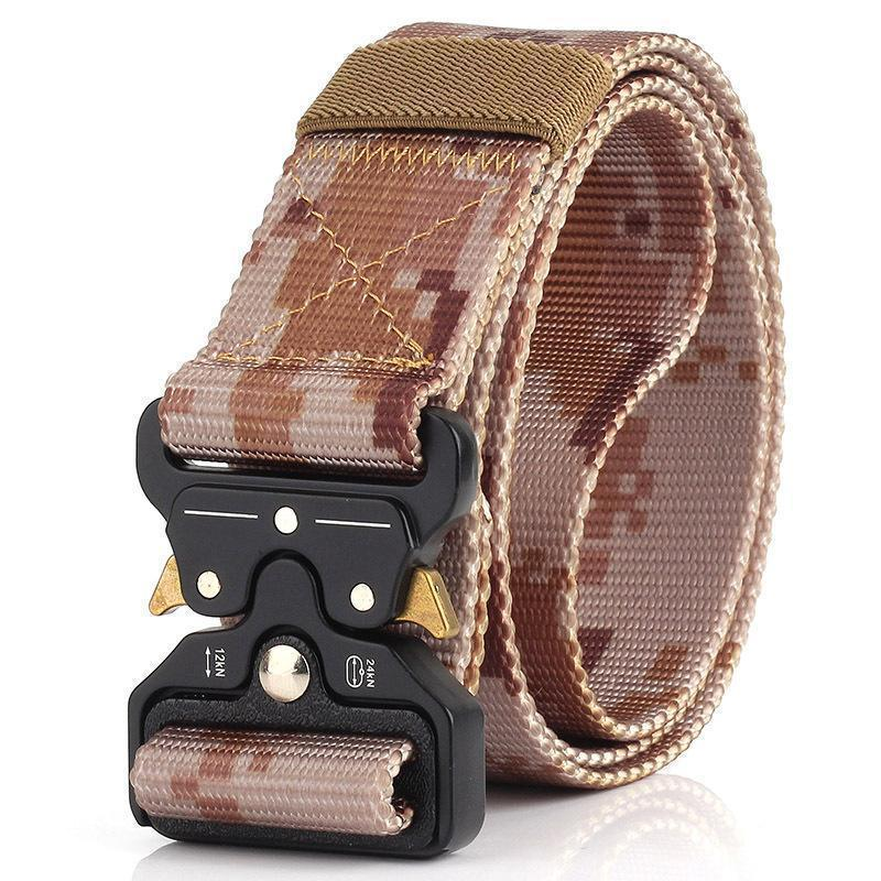 Army Outdoor Quick Release Tactical Nylon Belt - Buy 2 FREE SHIPPING