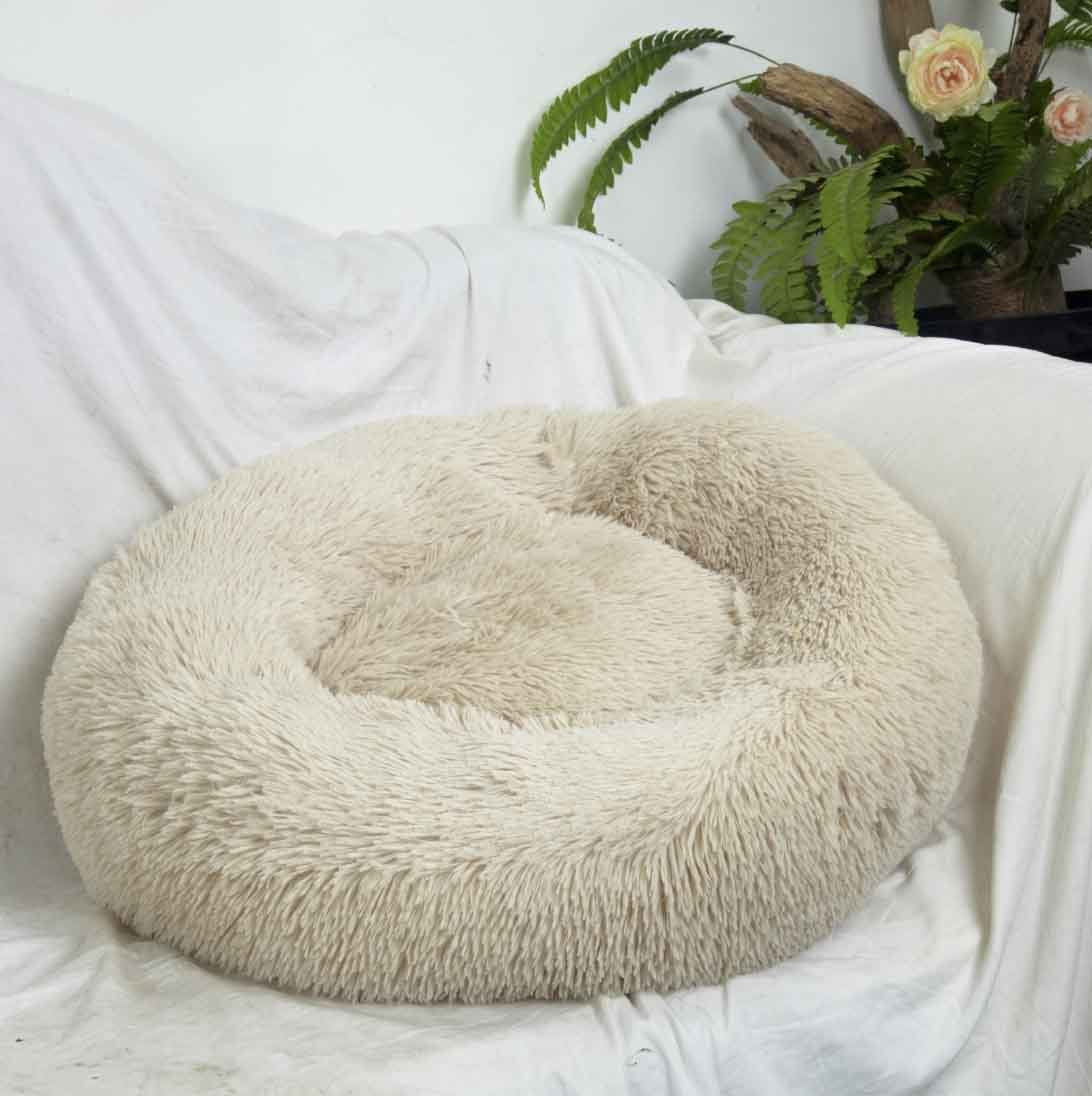 Comfy Calming Dog Cat Bed