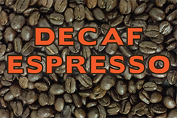 Blend: Decaf Espresso (Medium Roast)