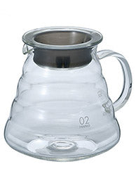 Gear: Hario V60 Range Server 600ml. Clear. Glass.