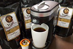 KCup: Single-Serve SINGLE COFFEE PACK for all Keurig Machines