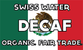 Single Origin: Decaf Mexico Chiapas Swiss Water FTO (Medium Roast)