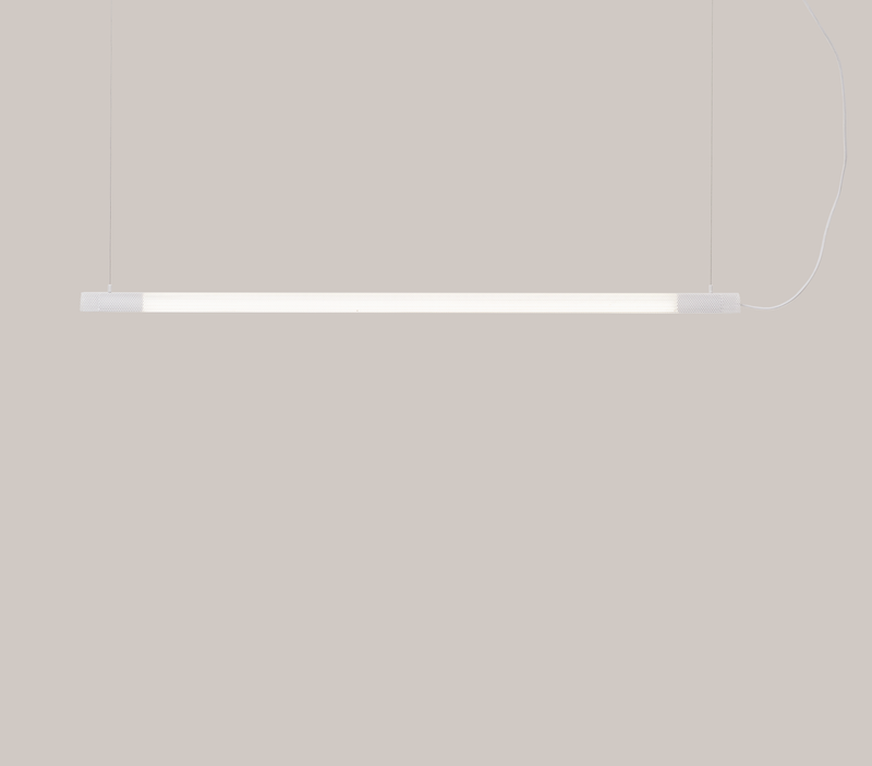 Radent Pendant Lamp, 1350 mm - White - NUAD