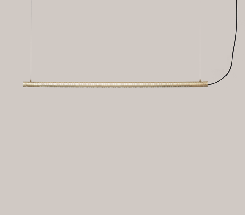 Radent Pendant Lamp, 1350 mm - Brass - NUAD