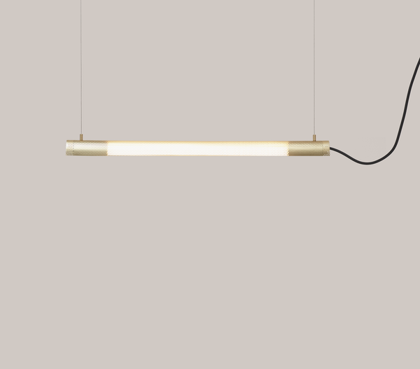 Radent Pendant Lamp, 700 mm - Brass - NUAD