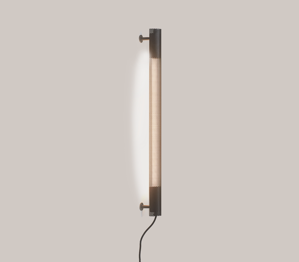 Radent Wall Lamp, 700 mm - Black - NUAD