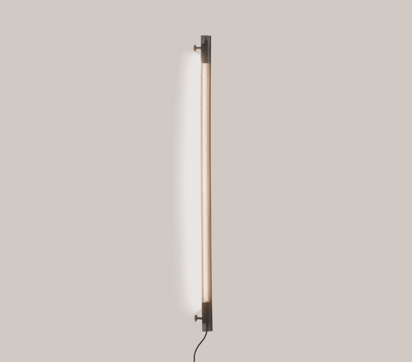 Radent Wall Lamp, 1350 mm - Black - NUAD