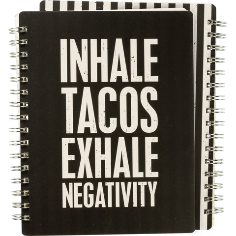 PBK Spiral Notebook - Tacos