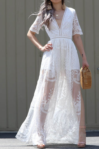 Bohemian Dream Maxi Romper